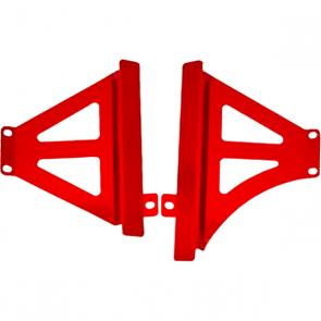 Protetor de Radiador Lateral Start Racing CRF 450 15/16 Anodizado