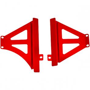 Protetor de Radiador Lateral Start Racing CRF 450 13/14 Anodizado