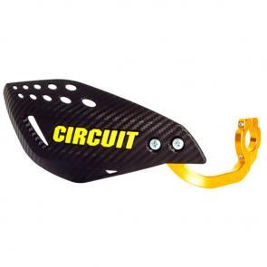 Protetor de Mão Circuit Vector Carbon - Alma de alumínio