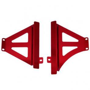 Protetor de Radiador Lateral Start Racing CRF250R -17/CRF450R-15 - Aluminio