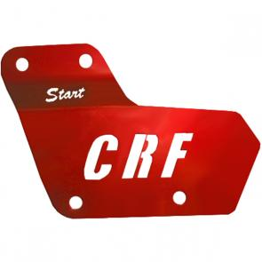 Reforço Guia de Corrente Start Racing CRF 230 Original Anodizado
