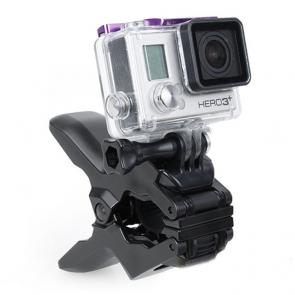 Suporte com Garra GoParts para Câmeras GoPro