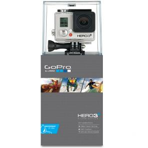 Camera GoPro Hero 3 + Silver Edition