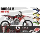 Kit Adesivo Motocross Dodge