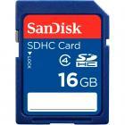 Cart�o de Mem�ria SanDisk SDHC 16GB - Classe 4