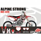 Kit Adesivo Completo Alpinestars Strong