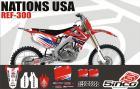 Kit Adesivo Completo Nation USA