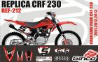 Kit Adesivo Completo R�plica CRF 230 11/13