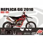 Kit Adesivo Completo R�plica GasGas 2010