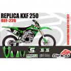 Kit Adesivo Completo KXF 250 12