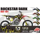 Kit Adesivo Rockstar Dark