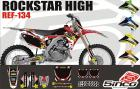 Kit Adesivo Completo Rockstar High