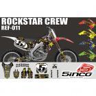 Kit adesivo Rockstar Mxparts Crew