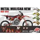 Kit Adesivo Metal Mulisha New