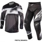 Kit Cal�a + Camisa Alpinestars Racer Supermatic 16