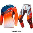 Kit Cal�a + Camisa Alpinestars Techstar Factory 17