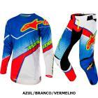 Kit Cal�a + Camisa Alpinestars Techstar Venom 17 Edi��o Limitada