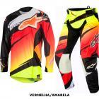 Kit Cal�a + Camisa Alpinestars Techstar Venom