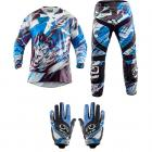 Kit Equipamento Motocross Riffel - 3 Itens
