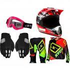 Kit Equipamento Motocross Start - 5 Itens