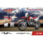 Kit Pl�stico CRF 230 2015 Avtec - Brinde Adesivo