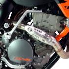 Protetor de Escape Universal DRC Para Motos 4T Modelo 2
