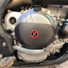 Protetor da Tampa de Embreagem Carbonex KTM/Husqvarna