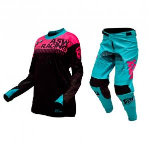 Kit Calça + Camisa Feminina ASW Podium Tech 17