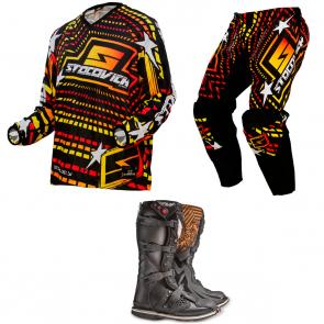 Kit Equipamento Motocross Racing