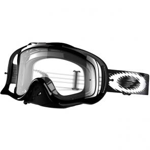 Óculos Oakley Crowbar MX Jet Black Speed Lente Transparente ef14654c1b