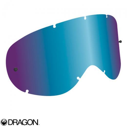 Lente Dragon MDX Azul Espelhada