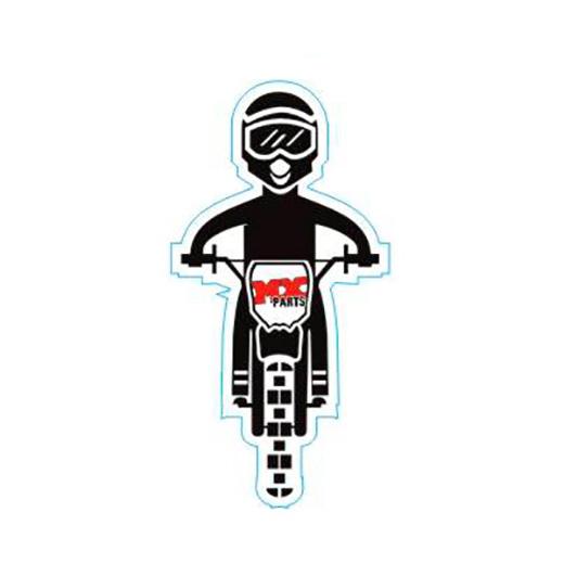 Adesivo Fam�lia Motocross Filho