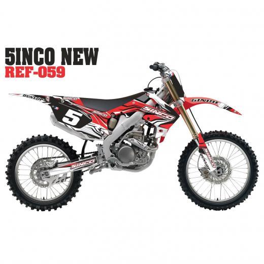 Kit Adesivo 5inco New