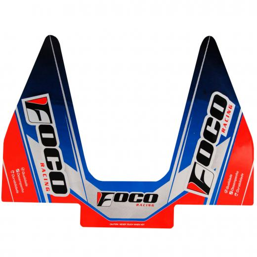 Adesivo de Ponteira Foco Racing