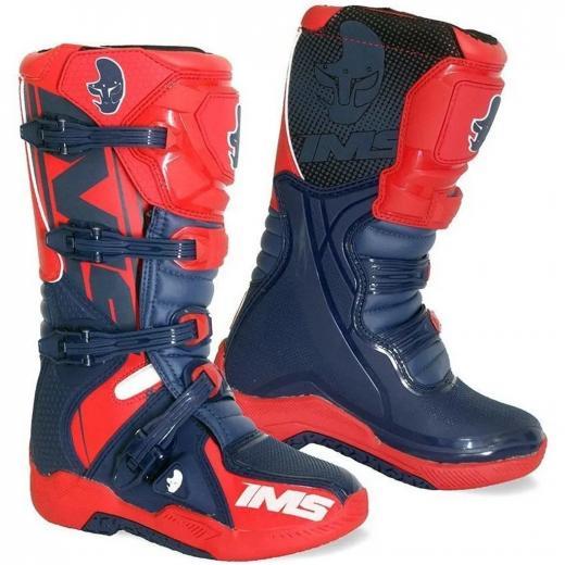 Bota IMS Factory Vermelho/Azul