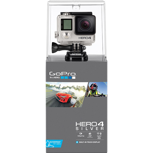 C�mera GoPro Hero 4 Silver Edition