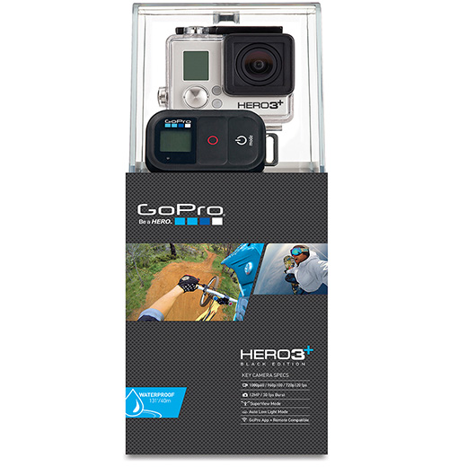 C�mera GoPro Hero3 + Black Edition