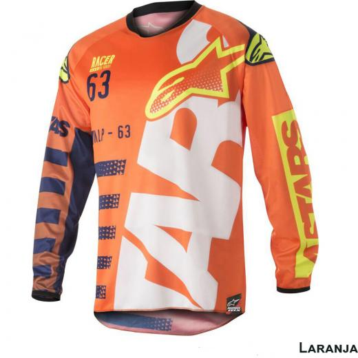 Camisa Alpinestars Racer Braap 18