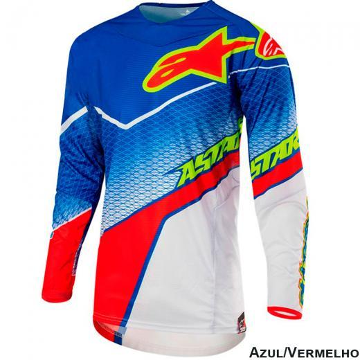 Camisa Alpinestars Techstar Venom 17 Edi��o Limitada