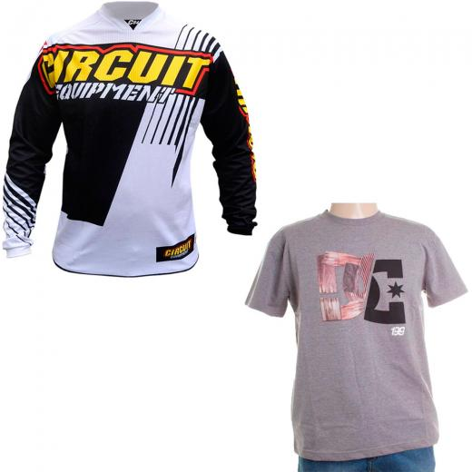 Camisa Circuit Treviso Brinde Camiseta DC Pastrana WoodStar