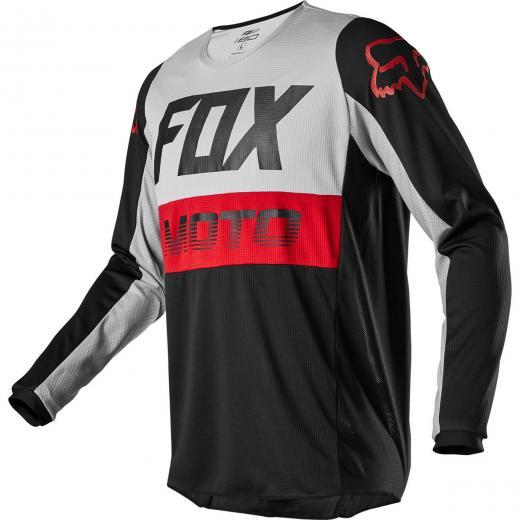 Camisa Fox 180 Fyce 2020 Cinza