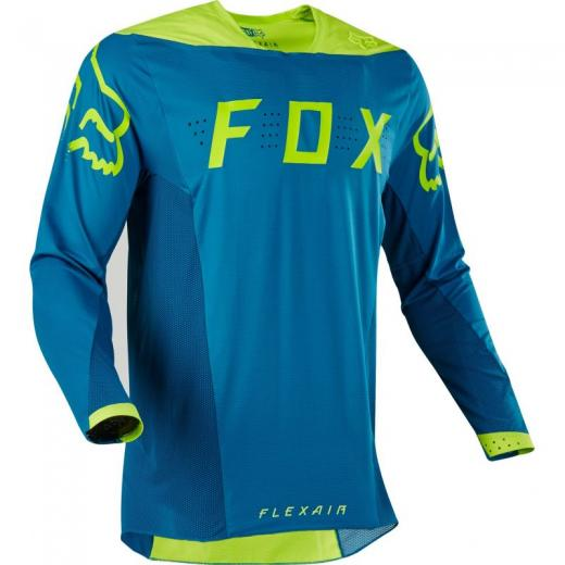 Camisa Fox Flexair Teal Moth Edi��o Limitada