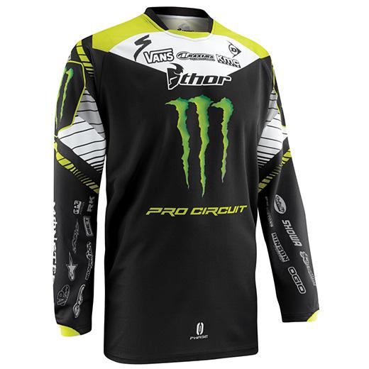 Camisa Thor Phase Pro Circuit 2015