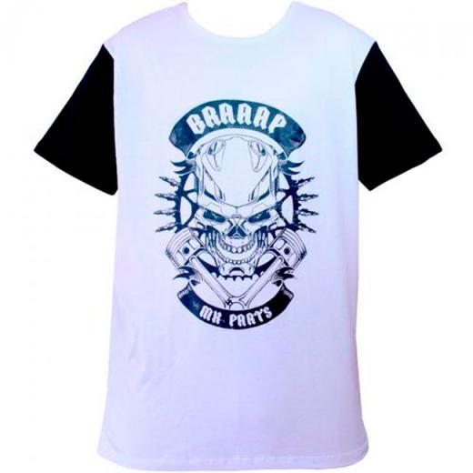Camiseta MX Parts Skull Rider