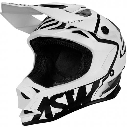 Capacete ASW Fusion Brigade - Branco