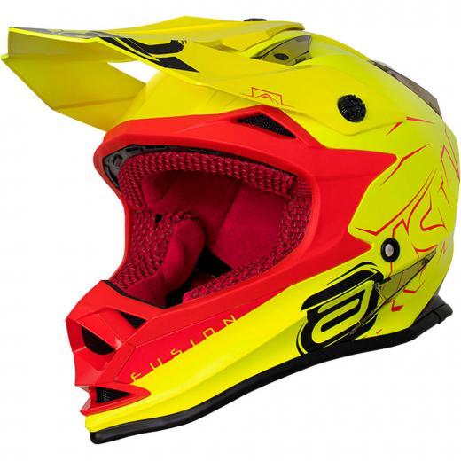 Capacete ASW Fusion Sharp - Amarelo