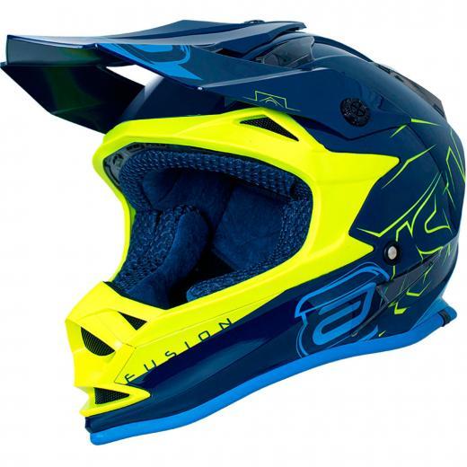 Capacete ASW Fusion Sharp - Azul