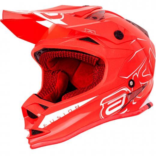 Capacete ASW Fusion Sharp - Vermelho