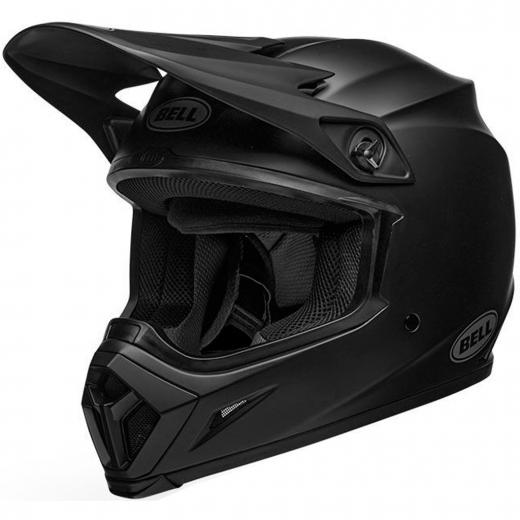 Capacete Bell MX 9 Solid Black Mips