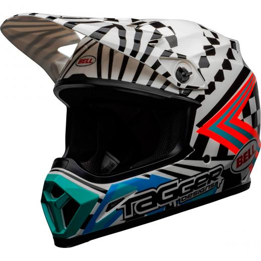 Capacete Bell MX 9 Tagger Check Me Out LE